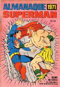 ALMANAQUE DO SUPERMAN DE 1971 - EBAL